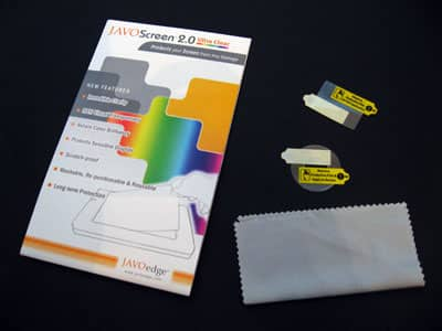 First Look: JAVOedge JAVOScreen 2.0 Ultra Clear Screen Protector