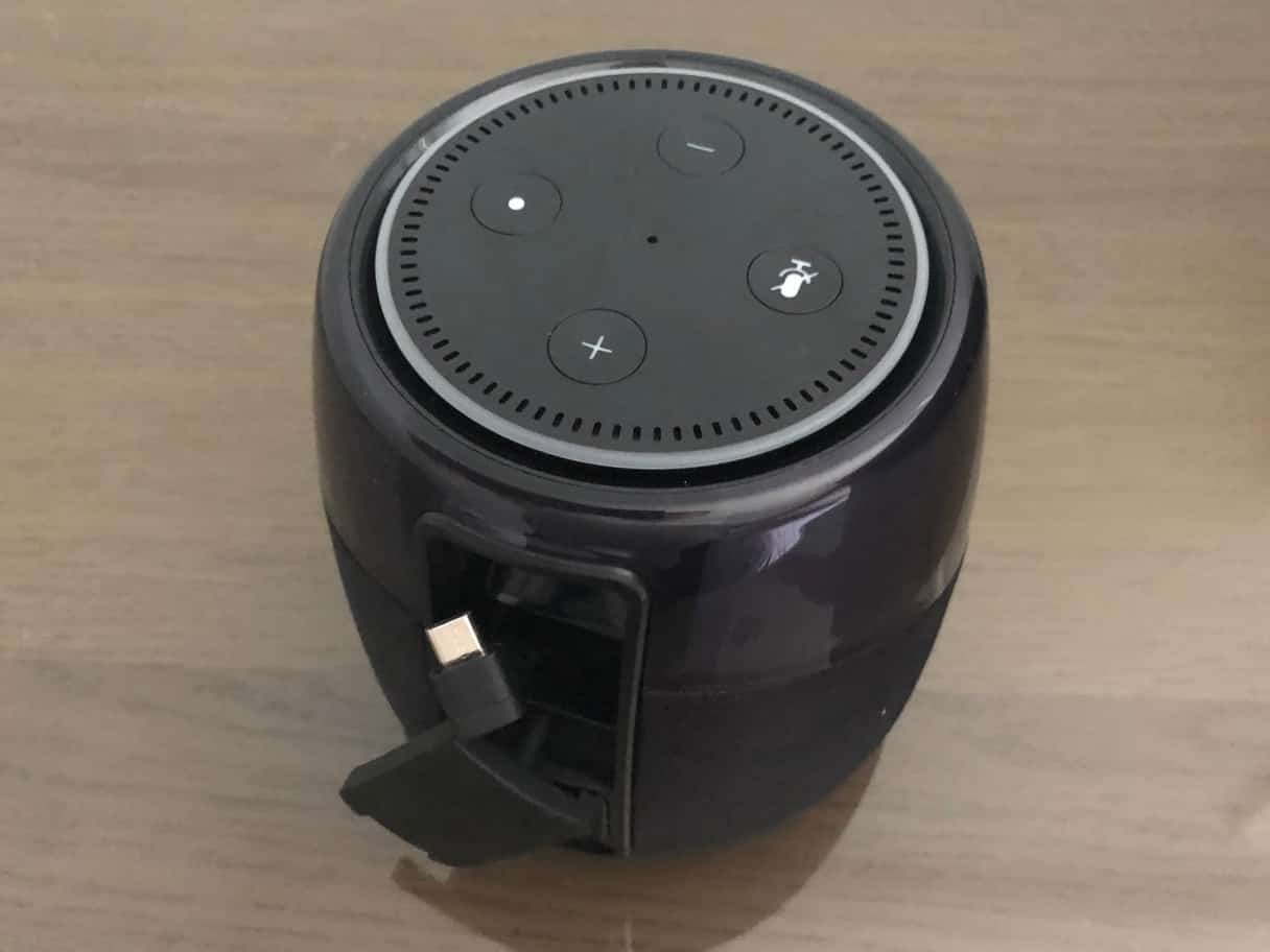 Review: iHome iAV5 Blueooth Rechargeable Speaker for Amazon Echo Dot