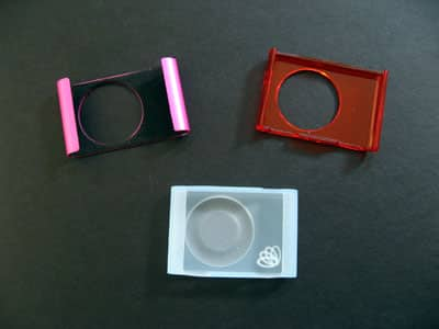 Review: Proporta Crystal, Silicone, and Steel Sleeves for 2G iPod shuffle