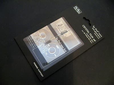 First Look: Power Support Crystal Film Set for Second Generation iPod nano