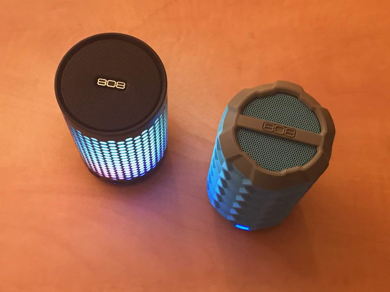 Review: 808 Audio Canz GLO and Canz H2O Bluetooth Speakers
