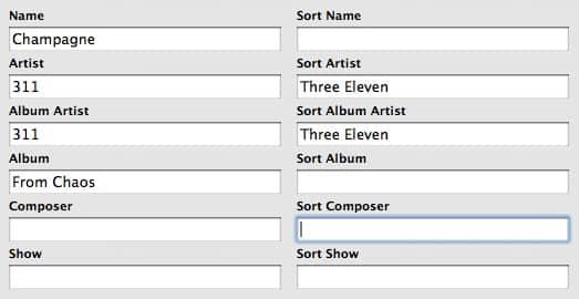 Understanding the new sort fields in iTunes 7.1