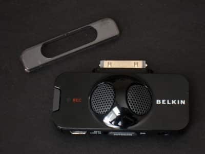 Review: Belkin TuneTalk Stereo for iPod with video