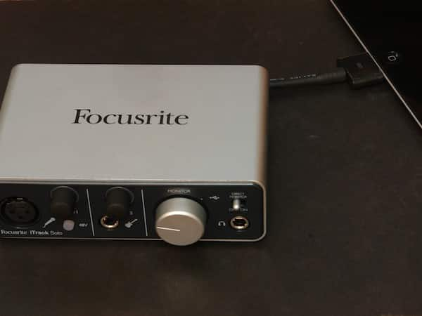 Review: Focusrite iTrack Solo
