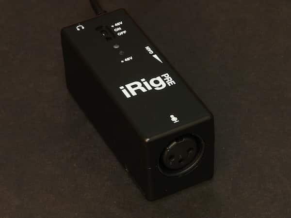 Review: IK Multimedia iRig PRE XLR Microphone Interface