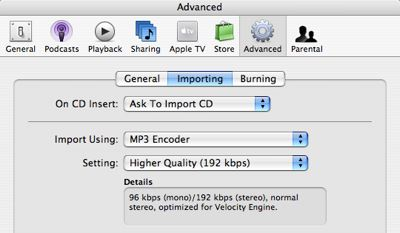 Converting AAC to MP3