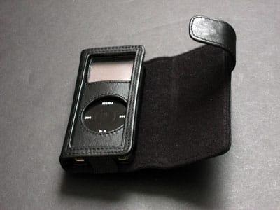 Preview: Logiix The Dual Case Nappa Leather Protection for iPod nano