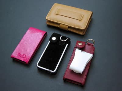 First Look: Kroo Cayman, Leather, Minimalist and Nanostruct Cases for iPod nano
