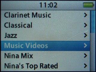 Music videos on 2G iPod nano