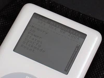 iPod Photo Diagnostic Mode revealed