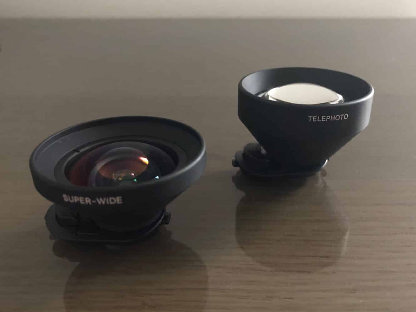 Review: Olloclip Super-Wide Pro and Telephoto Pro Lenses