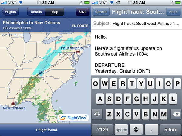 iPhone Gems: Flight Trackers for Casual and Serious Travelers