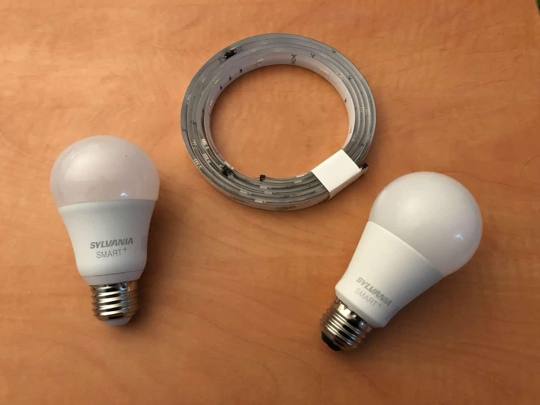 Review: Sylvania Smart+ Soft White LED Light Bulb, Full Color LED Light Bulb + Full Color LED Flex Strip
