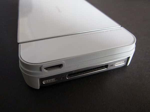 Review: iNature Kiano 4 Case with Keyboard for iPhone 4