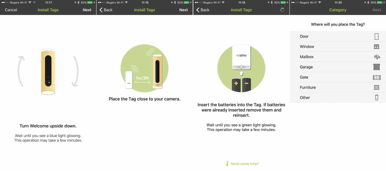 Review: Netatmo Tags for Welcome Smart Home Camera
