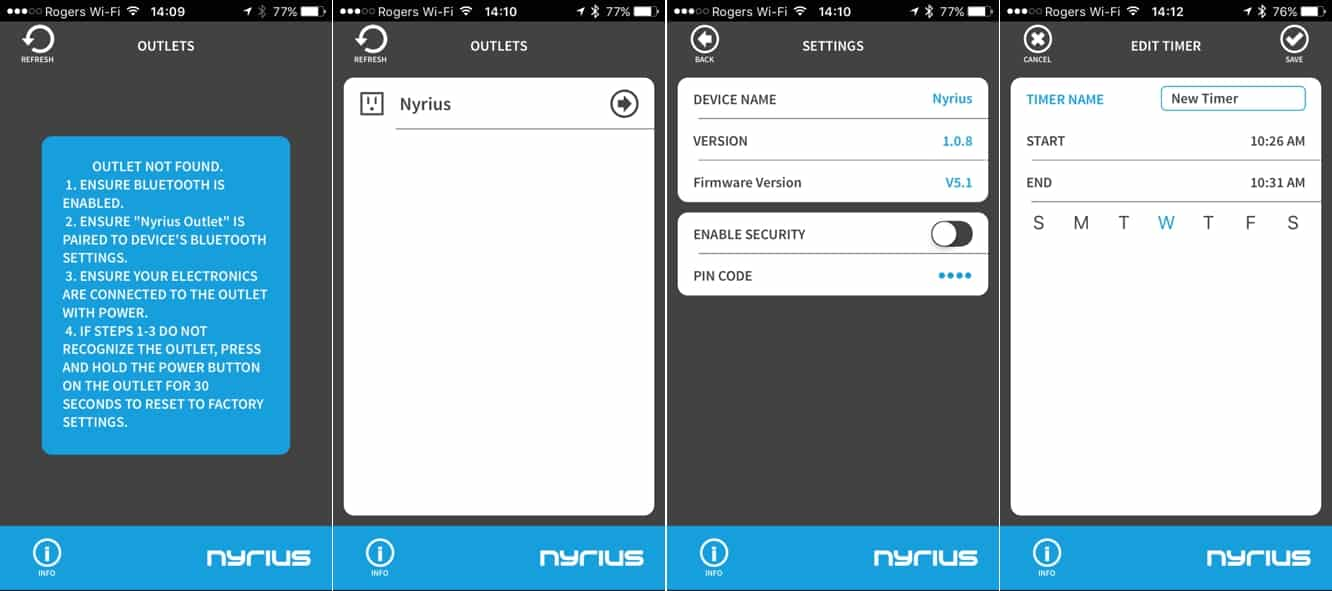 Review: Nyrius Smart Outlet