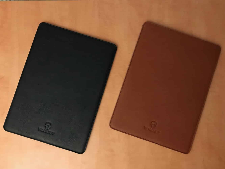 Woolnut MacBook Leather Sleeve