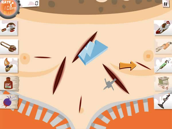 iPhone + iPad Gems: Amateur Surgeon 2 HD, Flick Rocket, Popstar Physics (Save Toshi 2) + Qvoid