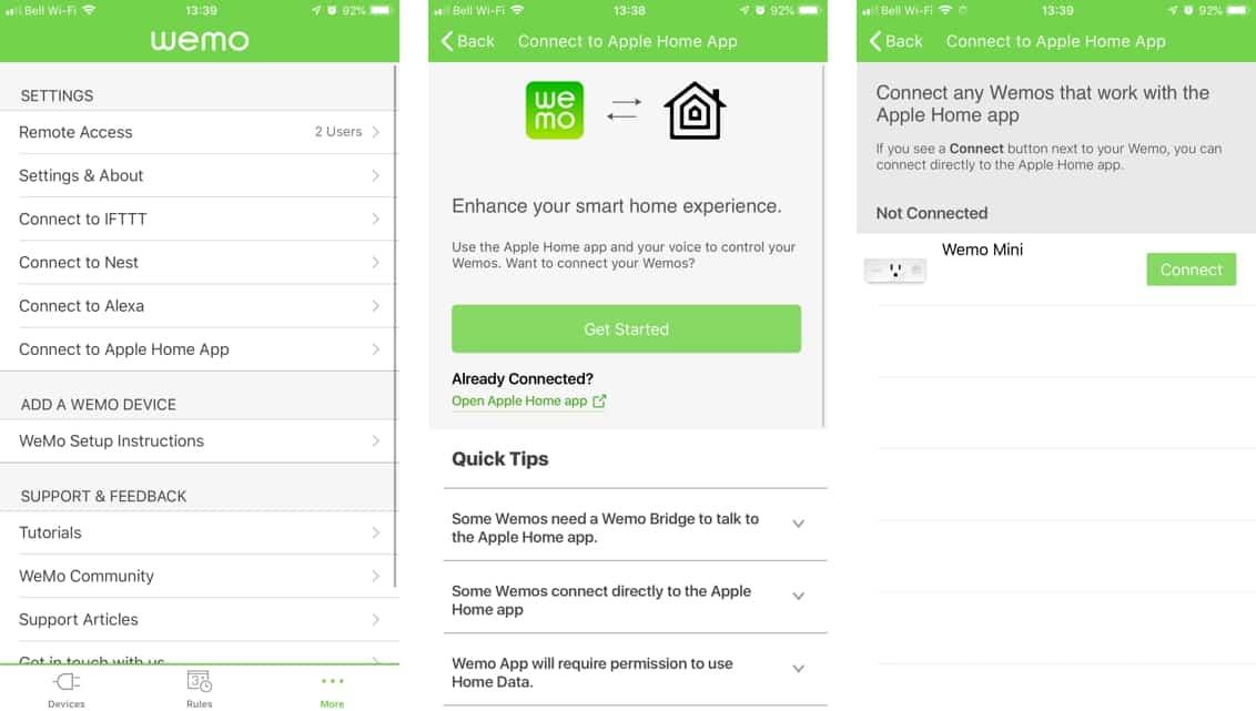 Review: Wemo Mini Smart Plug with HomeKit support