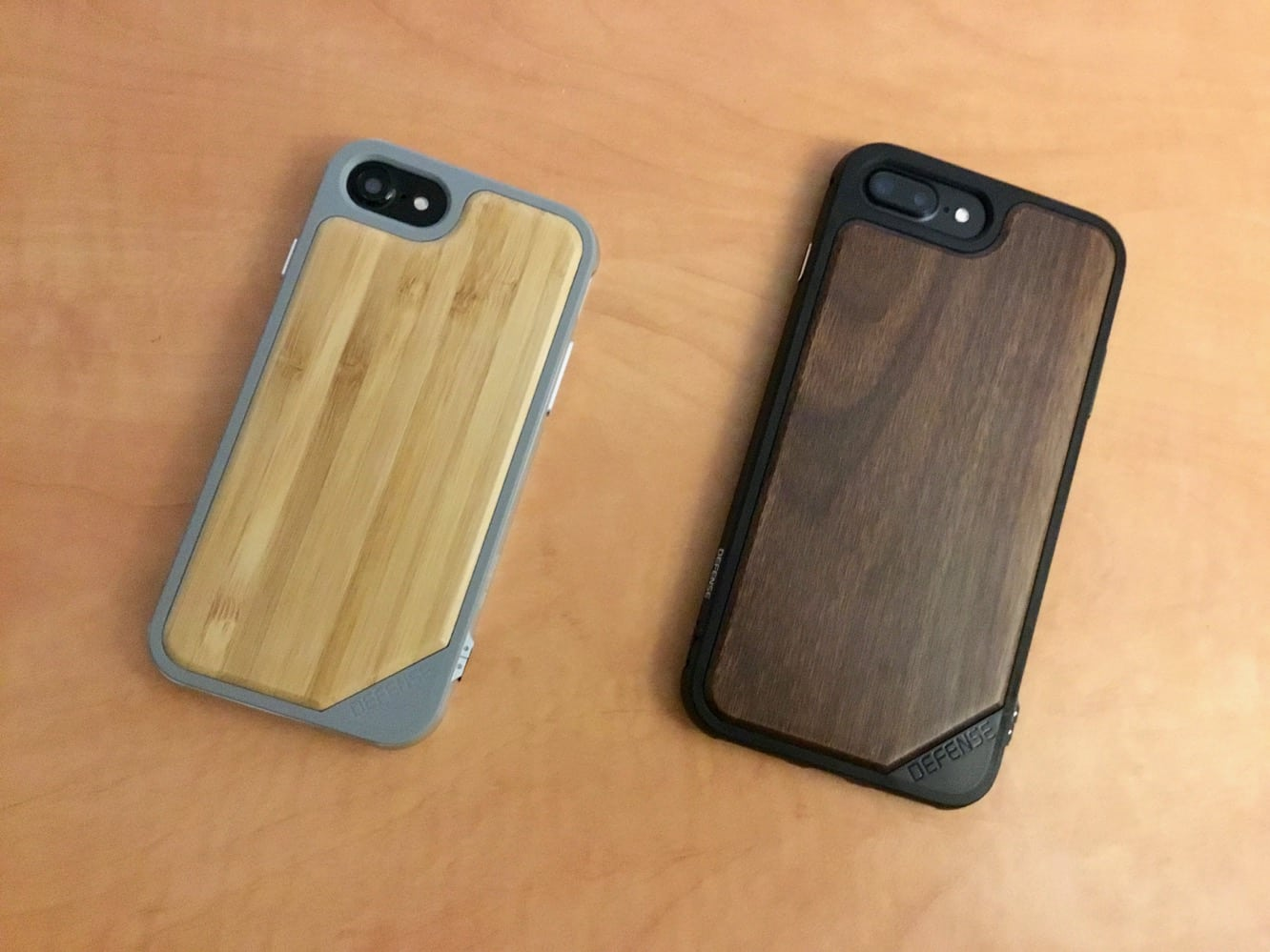 X-Doria Defense Lux Wood Line for iPhone 7 and iPhone 7 Plus