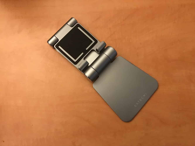 Satechi R1 Aluminum Hinge Holder Foldable Stand for iPad