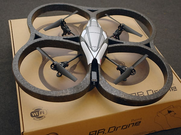 Review: Parrot AR.Drone Wi-Fi Quadricopter for iPhone, iPod touch + iPad