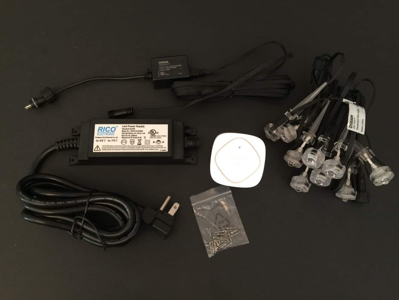 Review: Belkin WeMo + OSRAM Lightify Gardenspot Mini RGB Starter Set