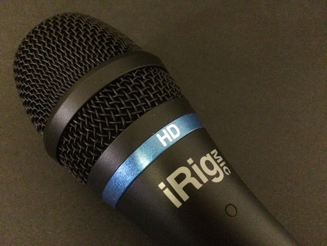 Review: IK Multimedia iRig Mic HD