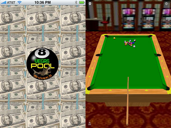 Review: Vegas Pool Sharks Lite by Chillingo/RESETgame