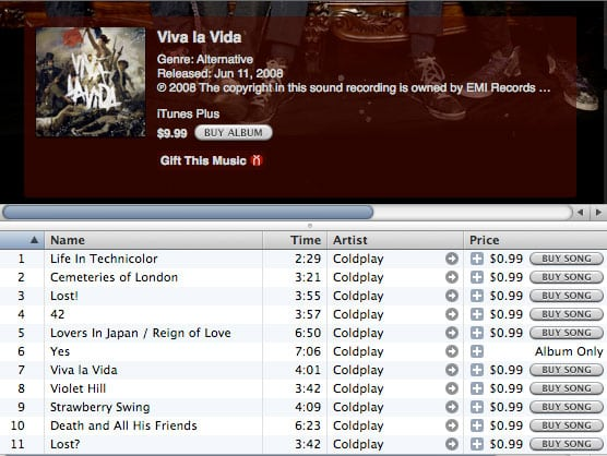 Purchasing Music Online for your iPod or iPhone