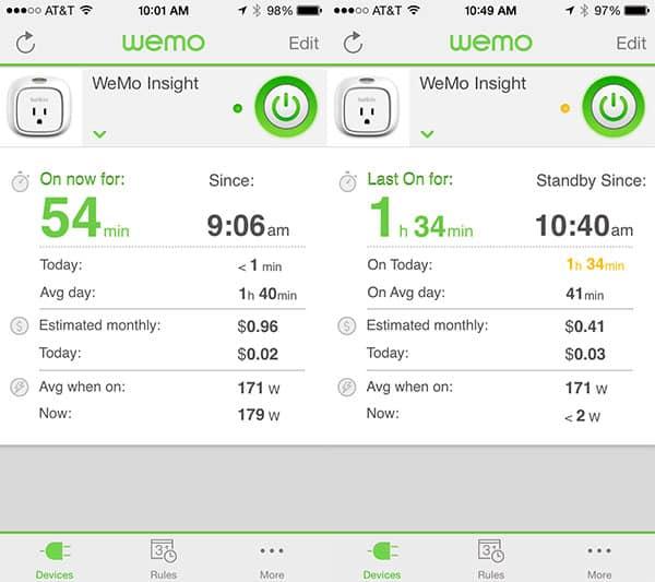 Review: Belkin WeMo Insight Switch