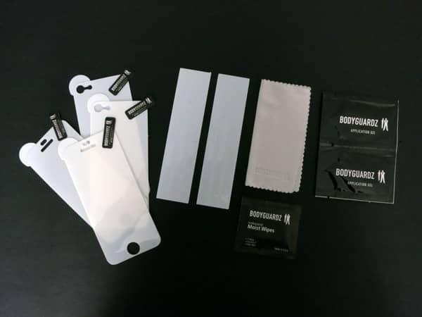 First Look: BodyGuardz Armor Carbon Fiber + UltraTough Clear Skins for iPhone 5
