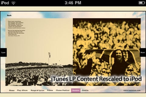 iTunes LP: Ten Months Later, It's Worth Paying For – But Not On iOS Devices