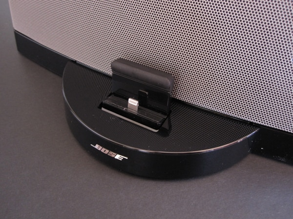 Review: Bose SoundDock Series III with Lightning Connector