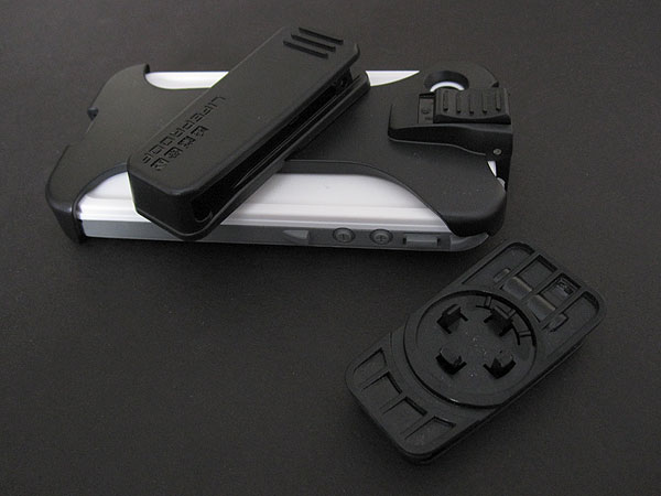 First Look: LifeProof Cases Armband/Swimband, Belt Clip, Bike & Bar Mount + GoPro Mount for iPhone 4/4S Case