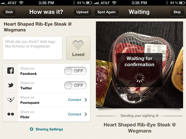 iOS Gems for Foodies: Foodspotting, Forkly + Today's Beer
