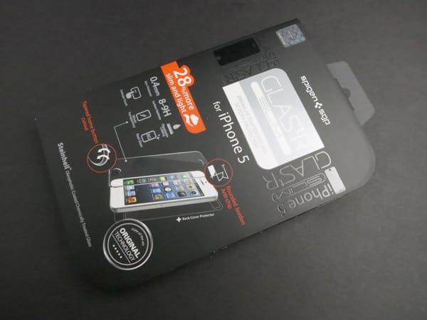 Review: Spigen SGP GLAS.tR Slim for iPhone 5