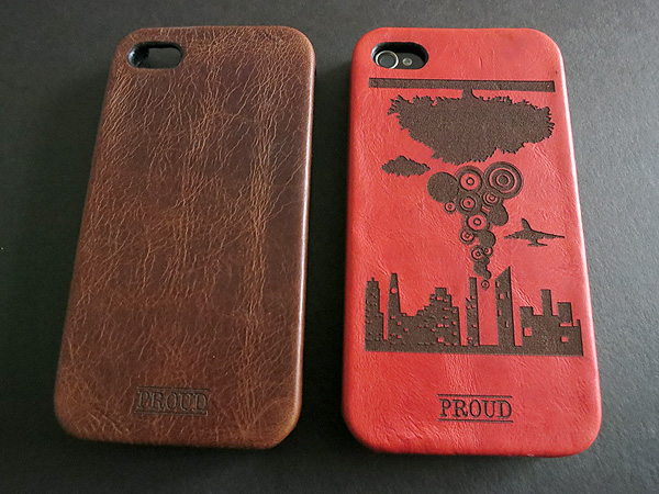 First Look: Proud Concept Leather Case for iPhone 4/4S