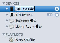 Renaming your iPod