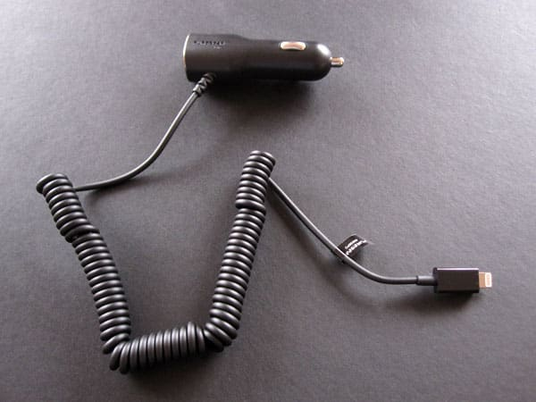 Review: PureGear Car Charger with USB Port for iPhone 5