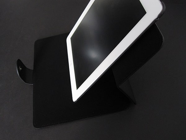 Review: Macally Shellstand 2 Rotatable Leather Case & Stand for iPad 2