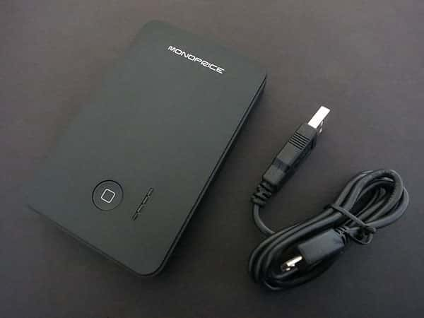 Review: Monoprice 3000mAh + 5000mAh External Battery Pack and Charger