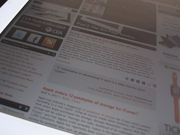 Review: SwitchEasy Pure(AR) for iPad 2