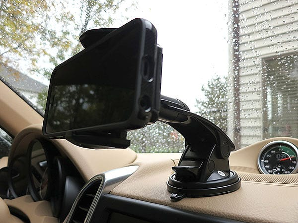 First Look: Macally Suction Cup Mount