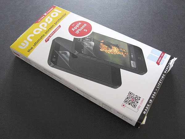 First Look: Wrapsol Ultra Xtreme Protective Film for iPhone 5