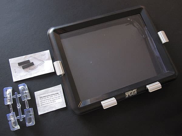First Look: Pyle Audio Waterproof Case for iPad
