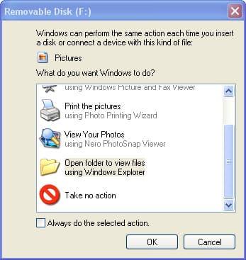 iPod and Windows Autoplay