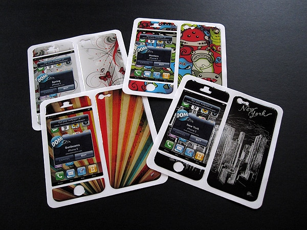 First Look: DomeSkin Skins for iPhone 5