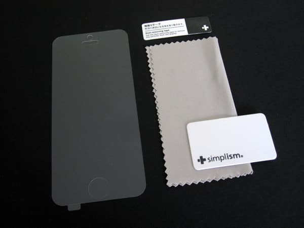 First Look: Simplism Anti-Glare + Crystal Clear Film Sets for iPhone 5