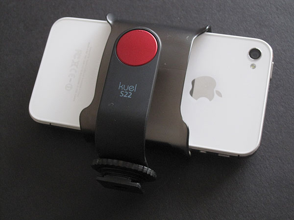First Look: Spigen SGP Kuel S22 Smartphone Cradle for Camera